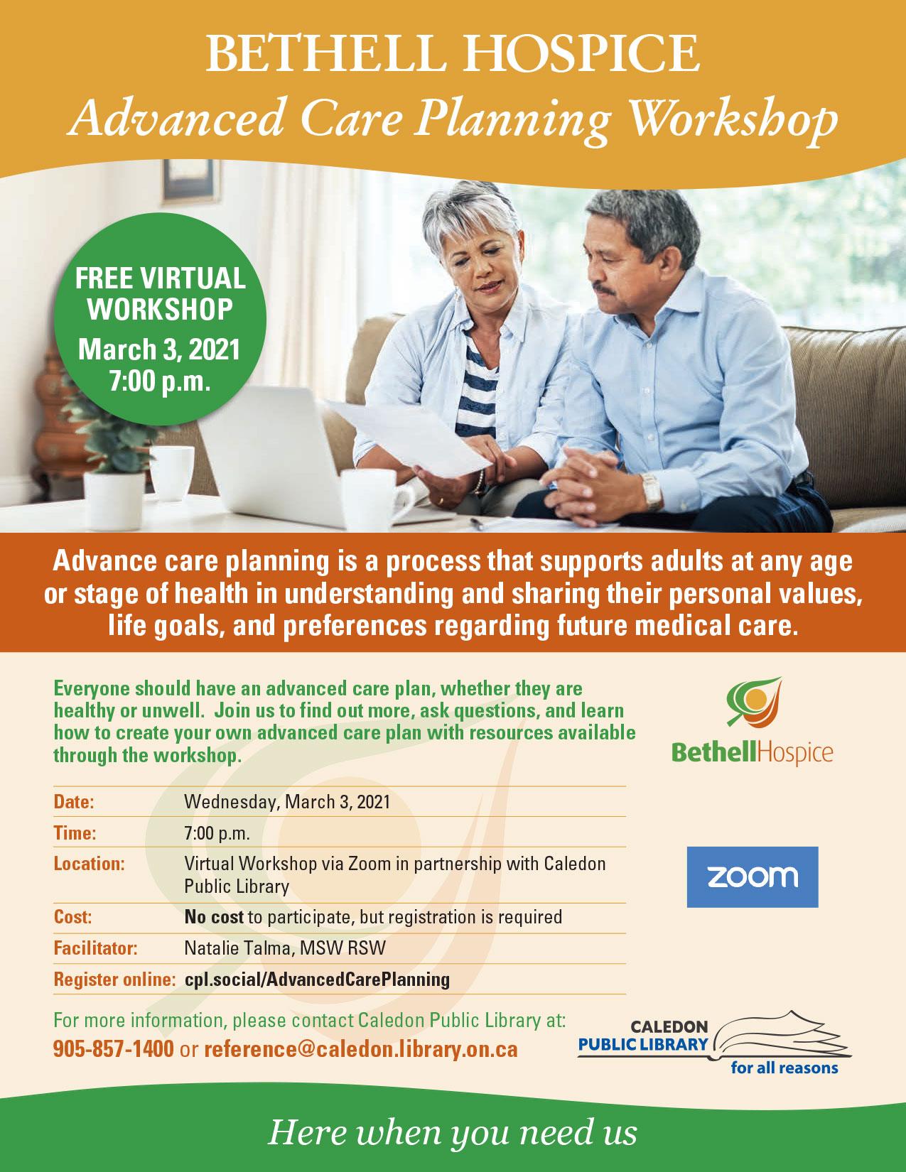 Advanced Care Planning Workshop