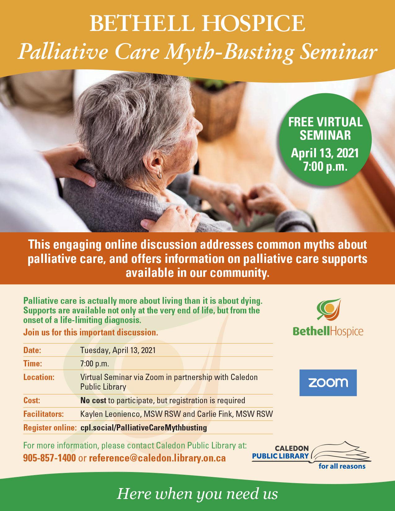 Palliative Care Myth-Busting Seminar